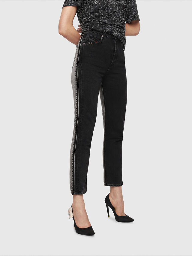 Diesel - D-Eiselle 082AN, Black/Dark Grey - Jeans - Image 1