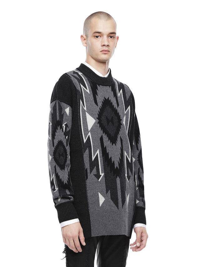 Diesel - KAVAJO, Black - Sweaters - Image 3