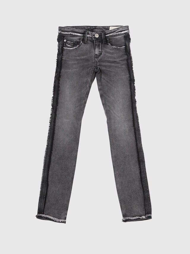Diesel - SKINZEE-LOW-J-N SP1, Black/Grey - Jeans - Image 1