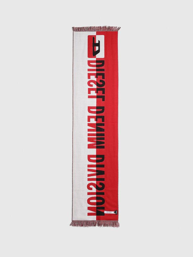 Diesel - STEDIO, Red/Black - Scarves - Image 2