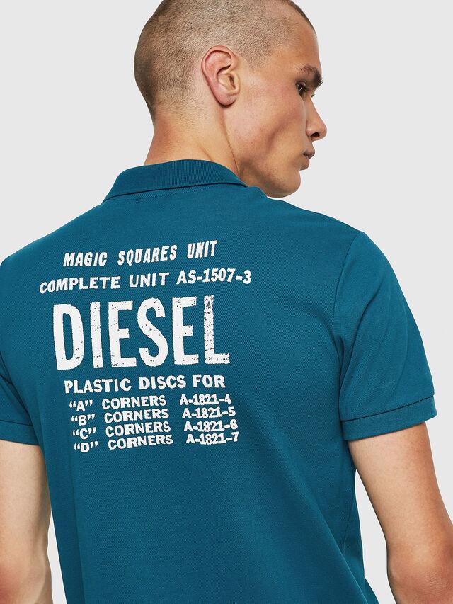 Diesel - T-SKATT-B2, Blue Marine - Polos - Image 4