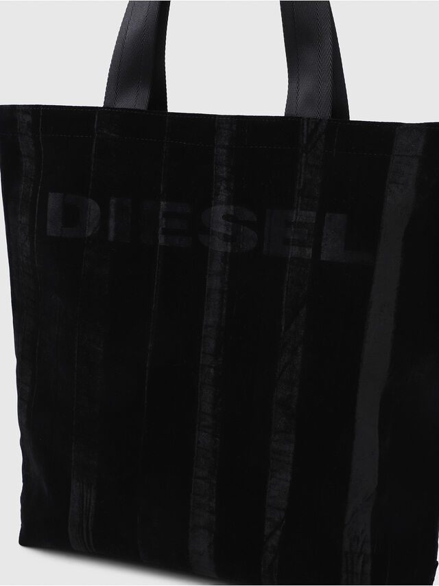 Diesel - F-THISBAG SHOPPER NS, Black - Shopping and Shoulder Bags - Image 3
