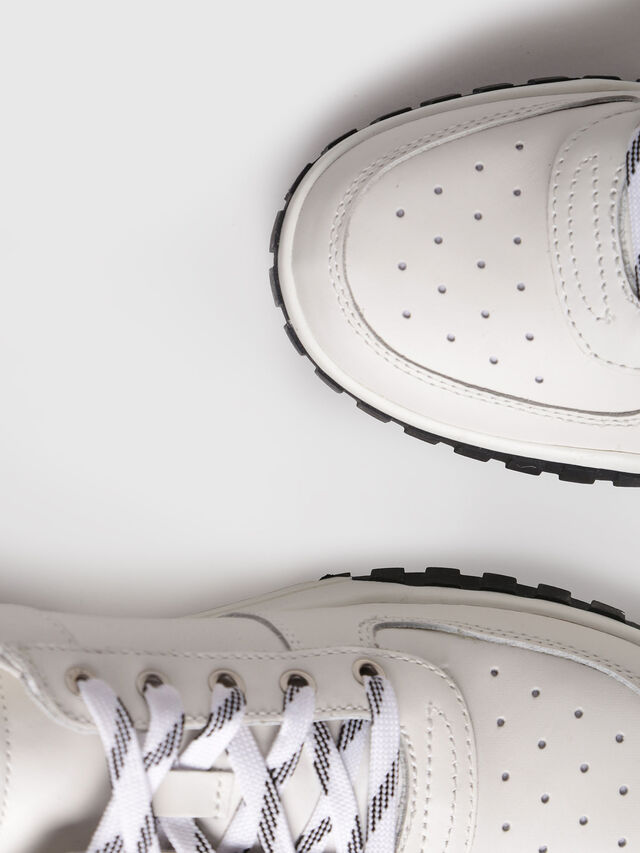 Diesel - S-RUA LC W, White - Sneakers - Image 4