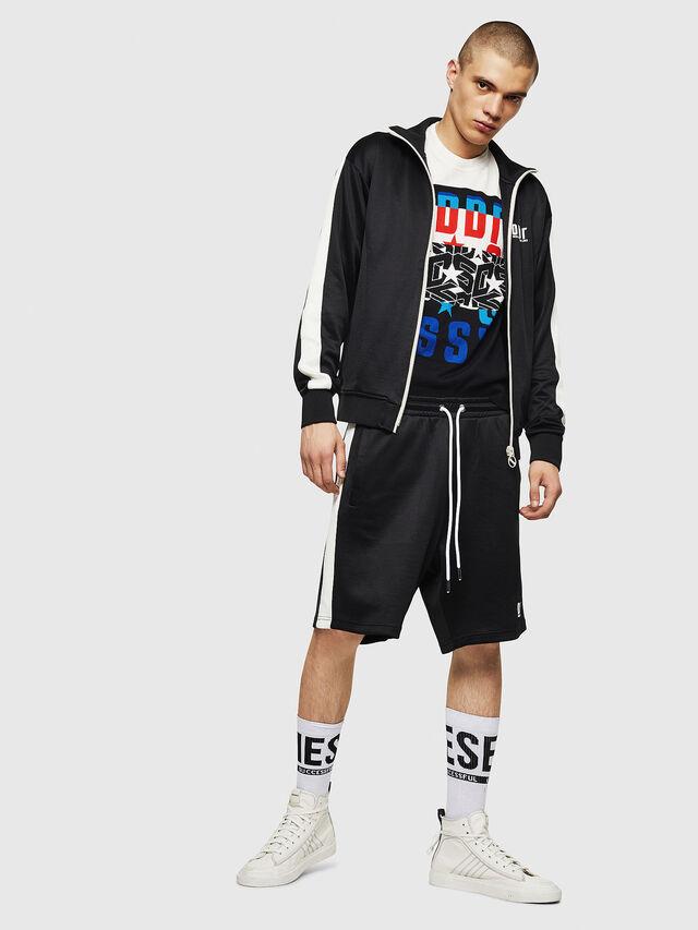 Diesel - P-MIKHAIL, Black - Shorts - Image 5