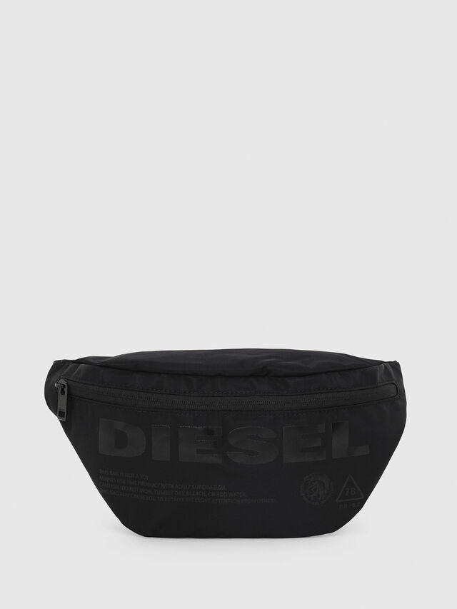 Diesel - F-SUSE BELT, Black - Crossbody Bags - Image 1