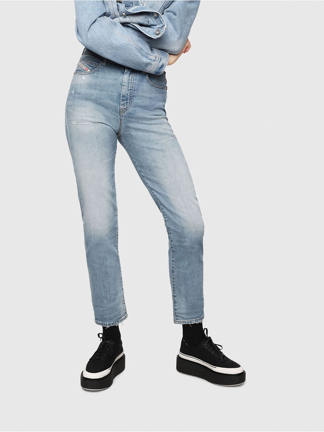 Diesel - D-Eiselle 069DY, Light Blue - Jeans - Image 1