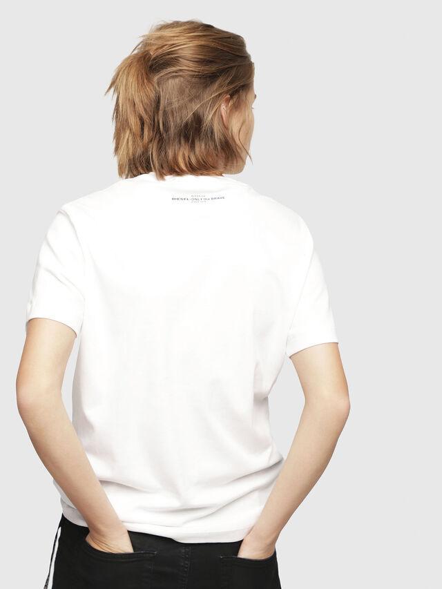 Diesel - T-FLAVIA-Y, White - T-Shirts - Image 2