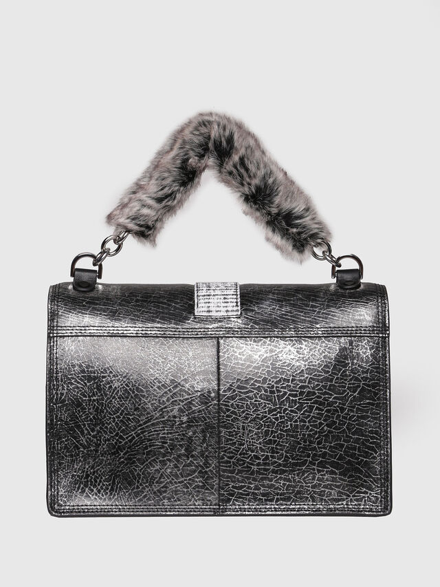 Diesel - MISS-MATCH CROSSBODY, Silver/Black - Crossbody Bags - Image 2