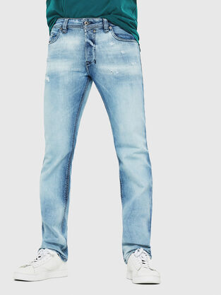 f89a5ca6 Mens Straight Jeans | Diesel Online Store