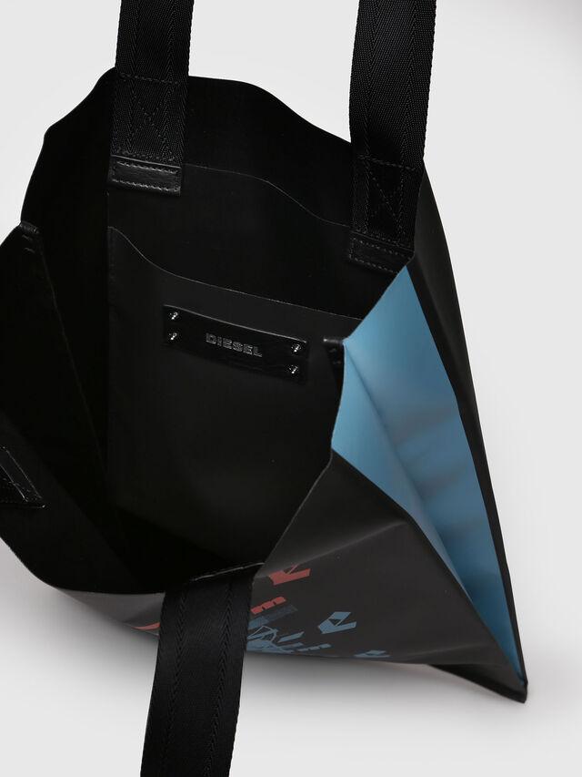 Diesel - F-BILLBOARD SHOPPER, Black/Red - Shopping and Shoulder Bags - Image 3