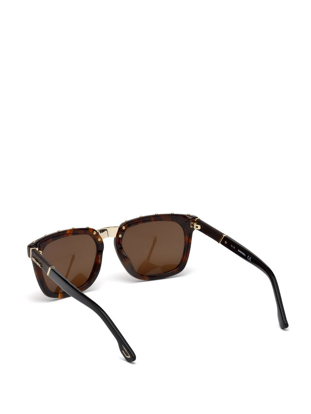 Diesel - DL0212, Brown - Sunglasses - Image 2