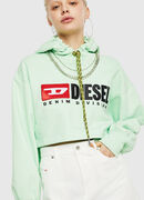 F-DINIE-A, Green Fluo - Sweatshirts