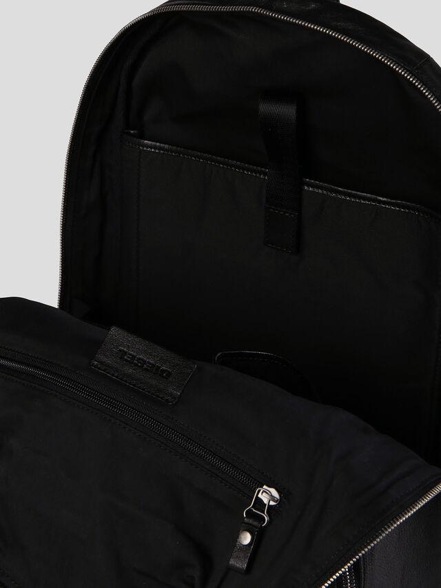Diesel - L-L4BACK, Black - Backpacks - Image 4