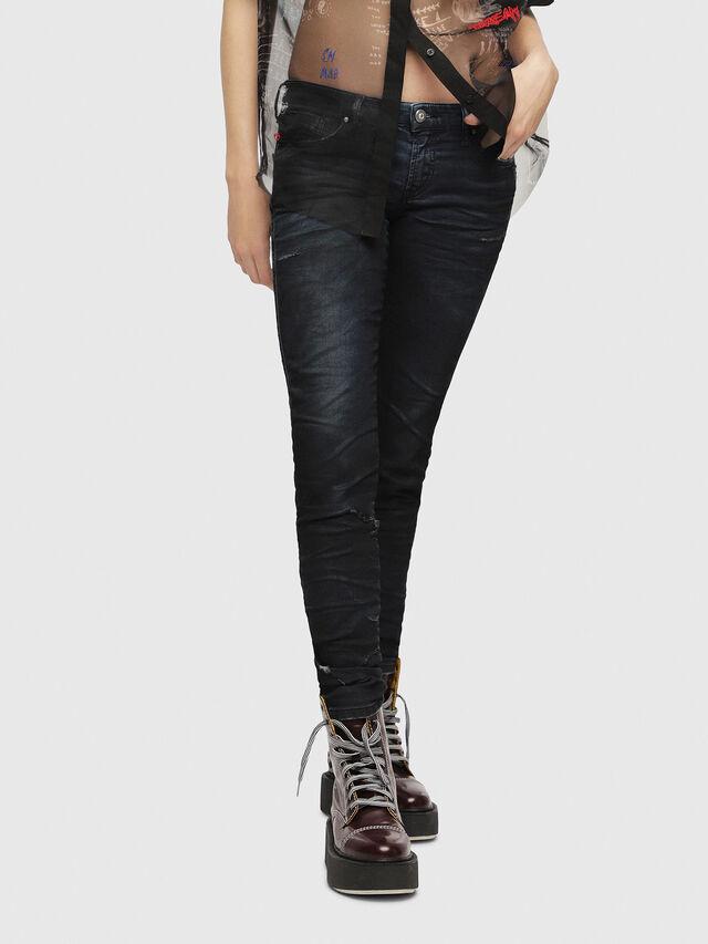 Diesel - Gracey JoggJeans 069CG, Dark Blue - Jeans - Image 1