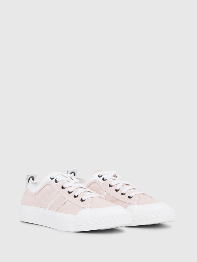 Diesel - S-ASTICO LOW LACE W, Pink/White - Sneakers - Image 2