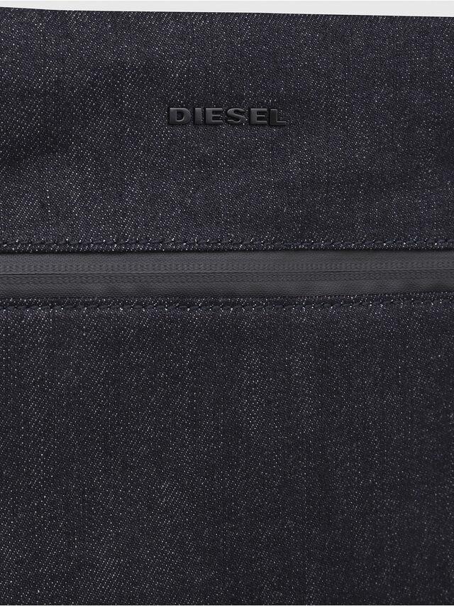 Diesel - D-SUBTORYAL CROSS, Blue Jeans - Crossbody Bags - Image 4