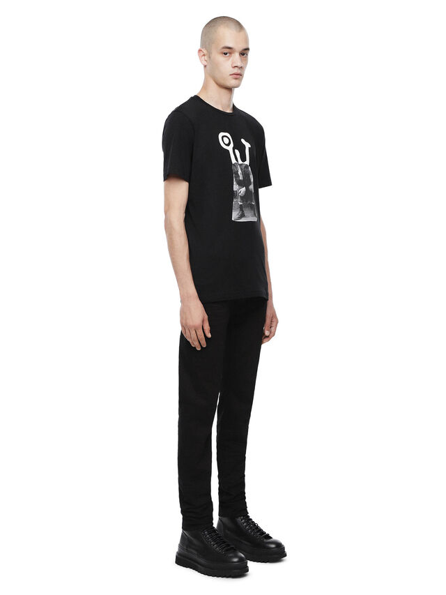 Diesel - TY-M6, Black - T-Shirts - Image 3