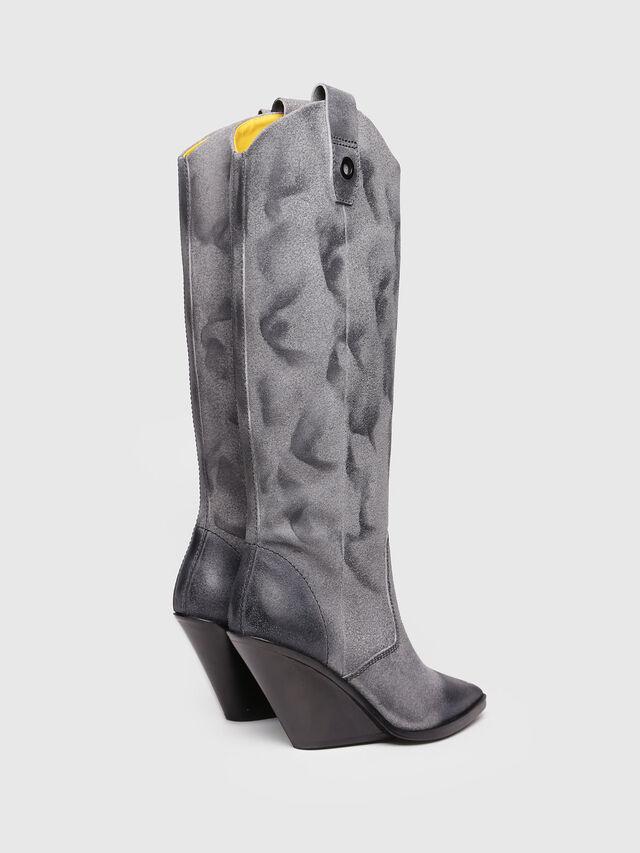 Diesel - D-WEST HB, Grey Melange - Boots - Image 3