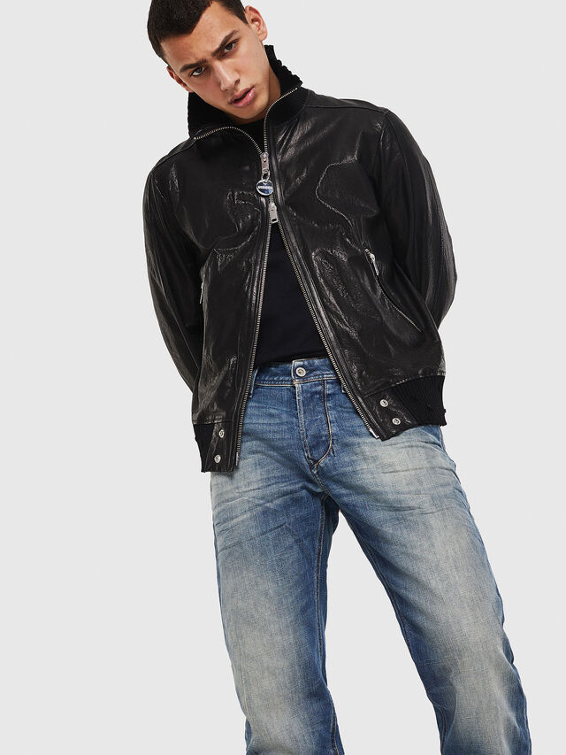 Diesel - Larkee-Beex 089AR, Medium Blue - Jeans - Image 4