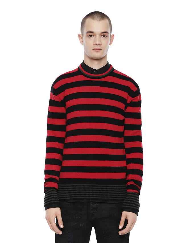 Diesel - KARCE, Red - Sweaters - Image 1