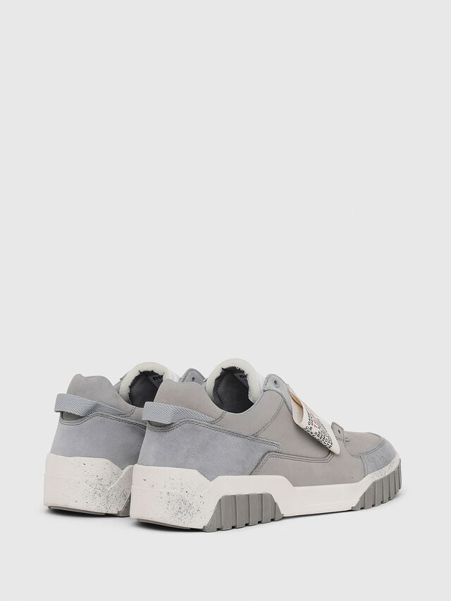 Diesel - S-LE RUA ON, Grey - Sneakers - Image 3