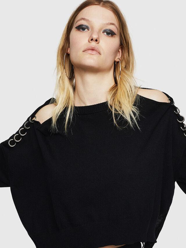 Diesel - M-NETTY, Black - Sweaters - Image 5