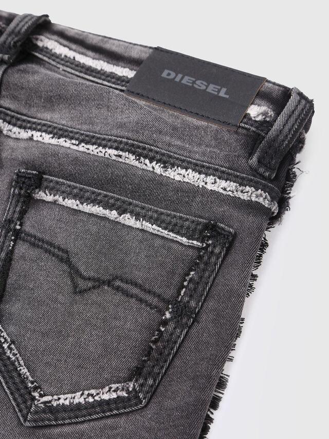 Diesel - SKINZEE-LOW-J-N SP1, Black/Grey - Jeans - Image 3