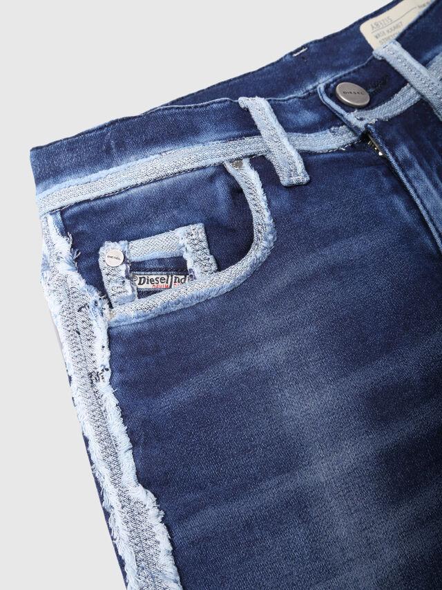 Diesel - PAFFI-J SP1 JOGGJEANS, Blue Jeans - Jeans - Image 3
