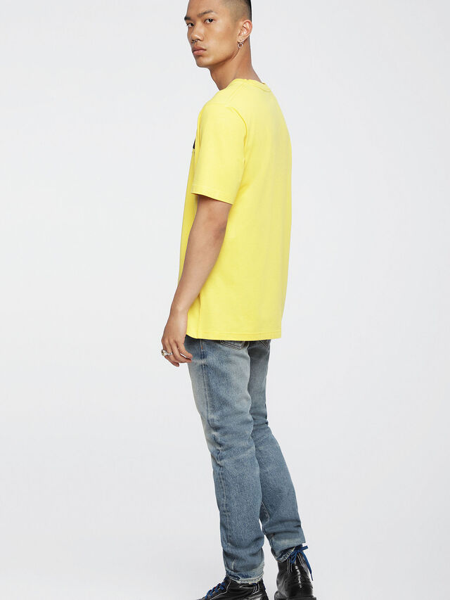 Diesel - T-JUST-DIVISION, Yellow - T-Shirts - Image 2