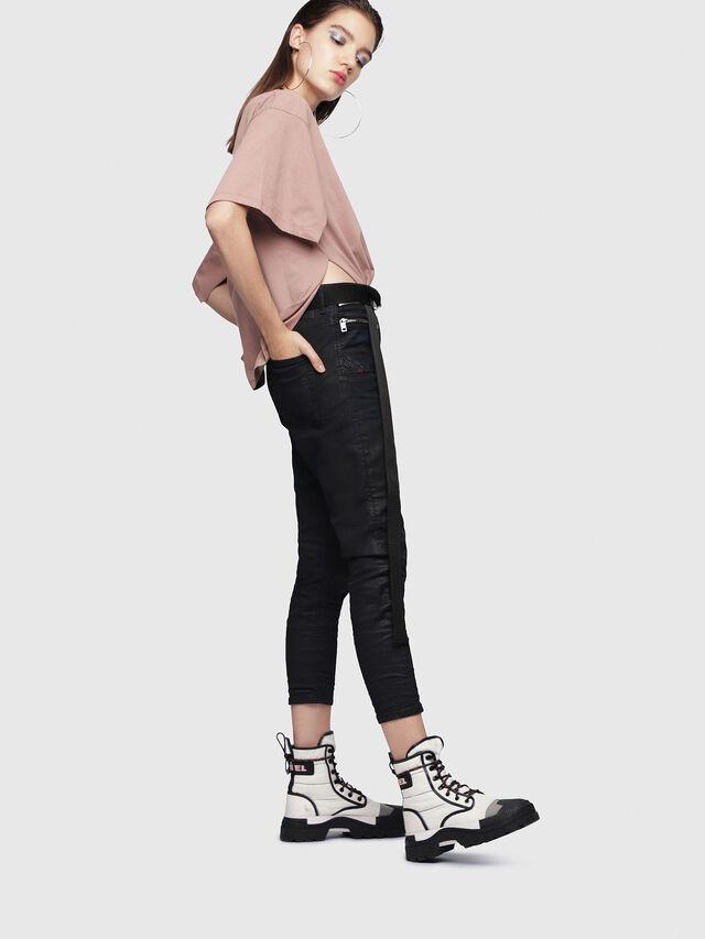 Diesel - D-Eifault JoggJeans 0688U, Black/Dark Grey - Jeans - Image 3
