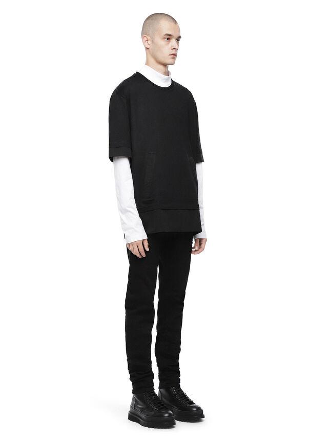 Diesel - TAGEO, Opaque Black - T-Shirts - Image 4