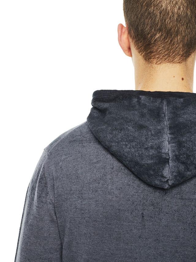 Diesel - KESULFY, Black/Grey - Sweaters - Image 4