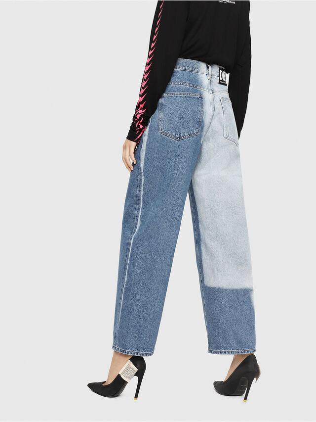 Diesel - Widee 0077V, Medium Blue - Jeans - Image 1