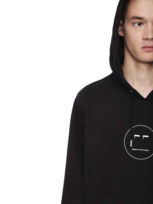 Diesel - SNEILBOOD-FACE, Black - Sweatshirts - Image 5