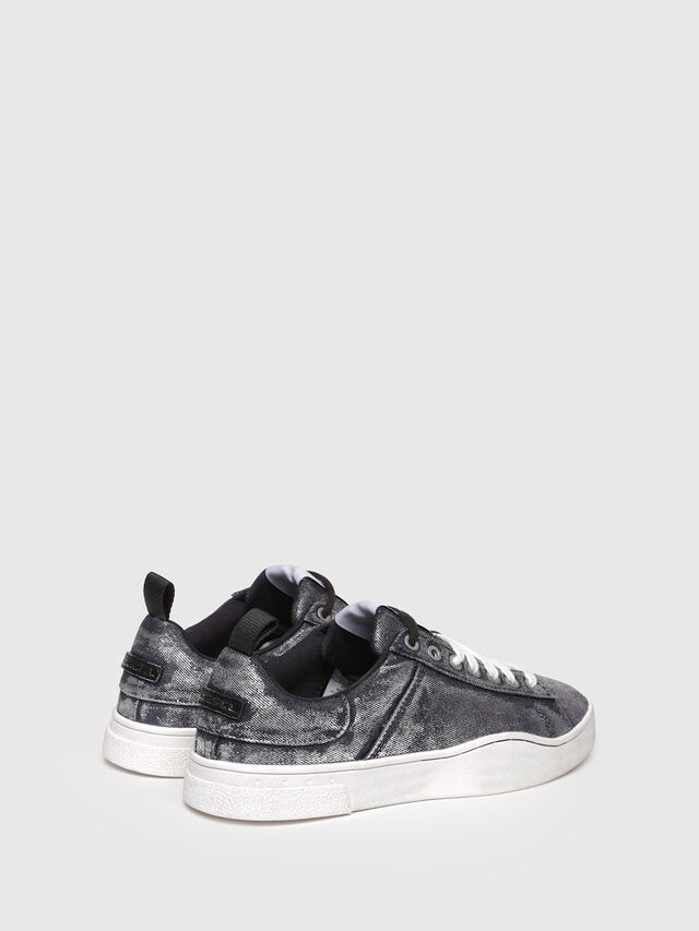 Diesel - S-CLEVER LOW W, Grey Jeans - Sneakers - Image 3