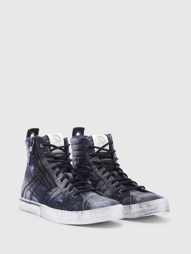 Diesel - D-VELOWS MID LACE, Night Blue - Sneakers - Image 2