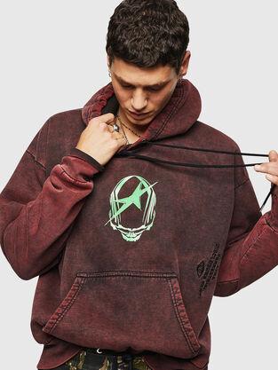 b37dfdaf Mens Sweaters: hooded or not | Diesel Online Store