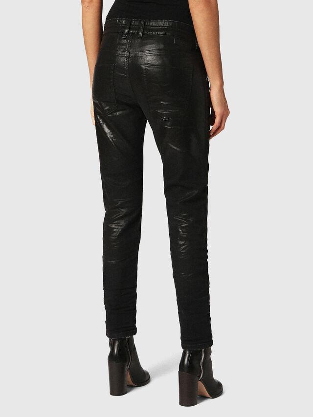 Diesel - Krailey JoggJeans 084JB, Black/Dark Grey - Jeans - Image 2
