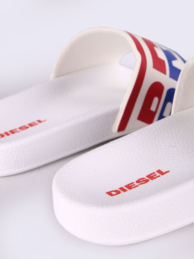 Diesel - SA-MARAL, White - Slippers - Image 3