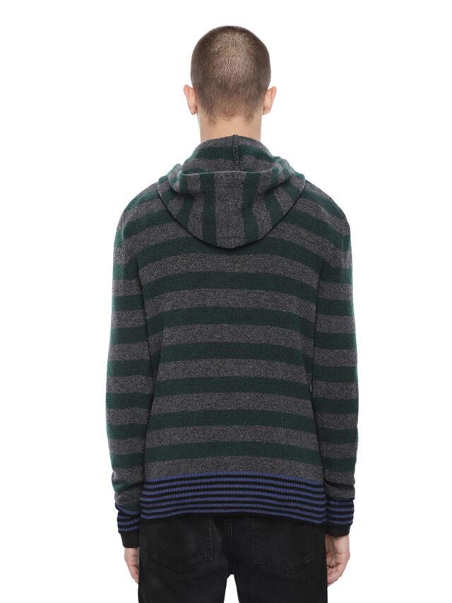 Diesel - KARCE-HOOD, Green - Sweaters - Image 2