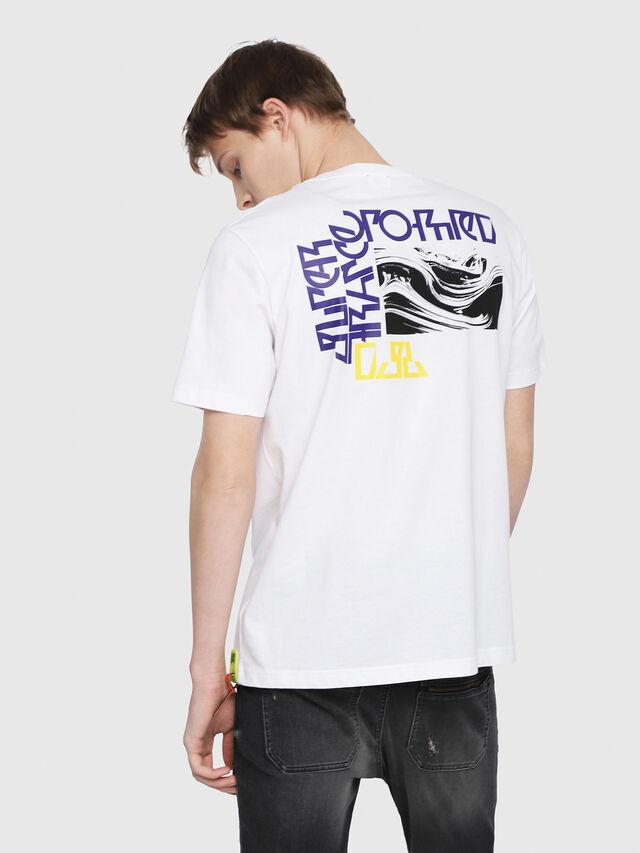 Diesel - T-JUST-Y-TRIMS, White - T-Shirts - Image 2