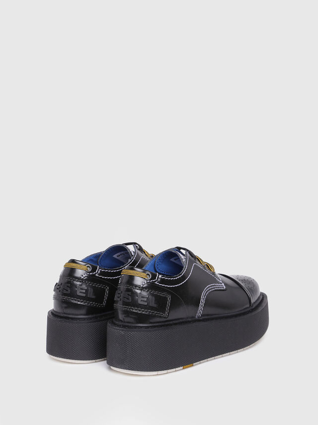 Diesel - D-CAGE LC, Bright Black - Flats - Image 3