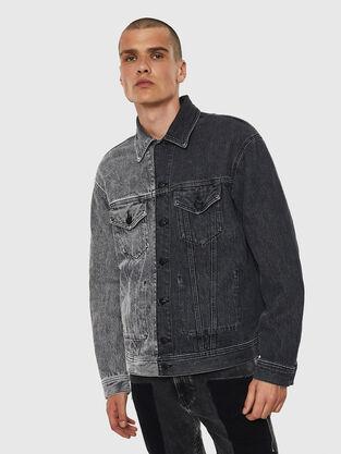 d0066d0e8cd9 Mens Jackets: denim, leather | Diesel Online Store