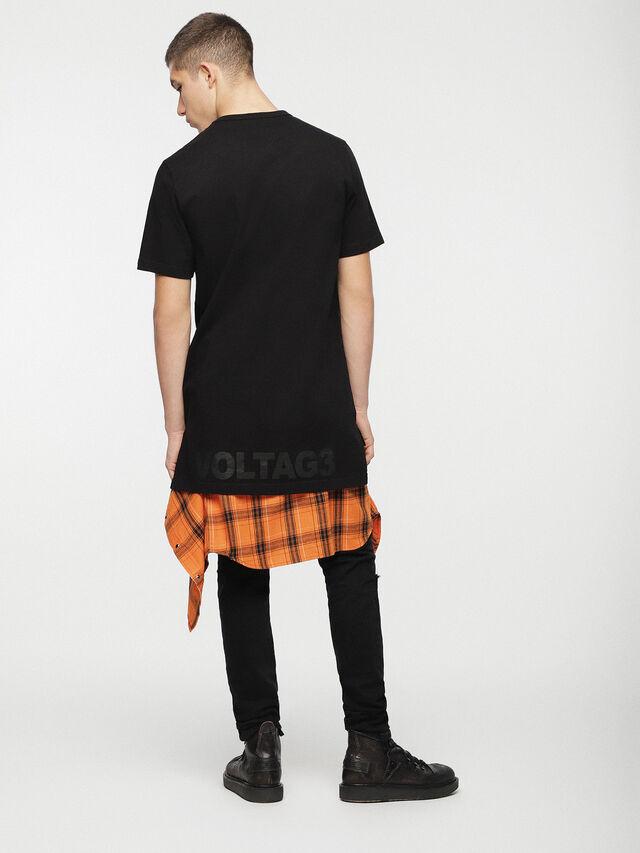 Diesel - T-GULLER, Black - T-Shirts - Image 4