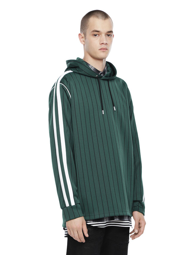 Diesel - TALCY, Bottle Green - Sweatshirts - Image 1