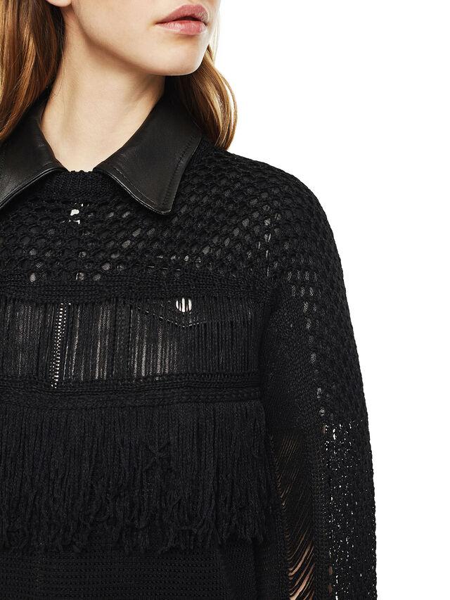 Diesel - MOFRAN, Black - Sweaters - Image 4