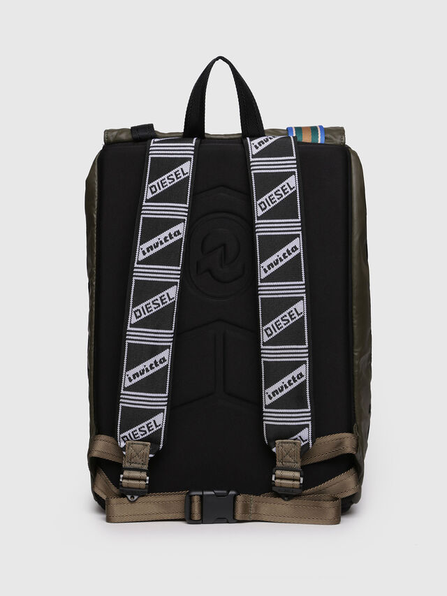 Diesel - M-INVICOLAB BACK II, Dark Green - Backpacks - Image 2