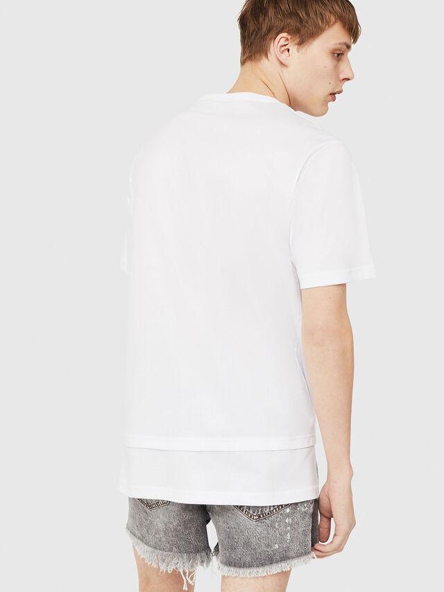 Diesel - T-YORI-Y1, White - T-Shirts - Image 2