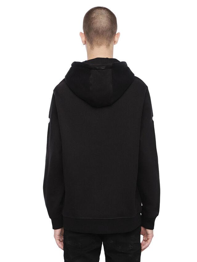 Diesel - SNEILBOOD-NAILS, Black - Sweatshirts - Image 2