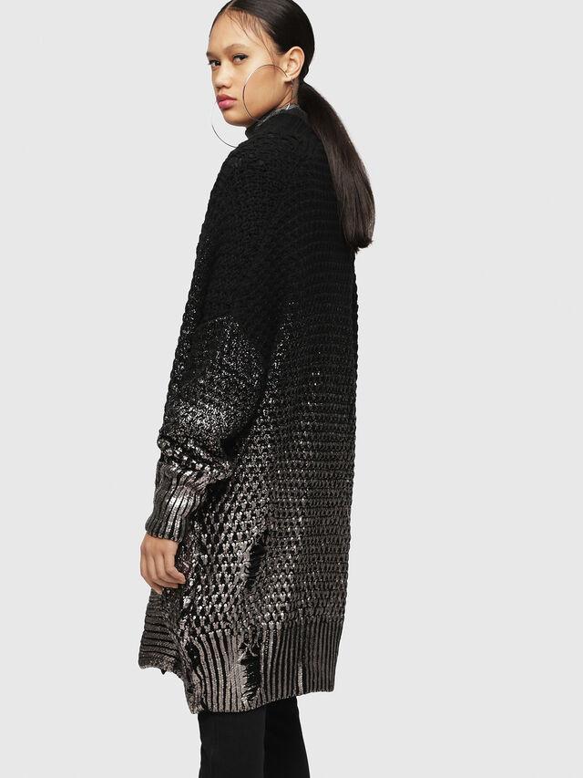 Diesel - M-MIKO, Black/Silver - Sweaters - Image 2